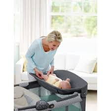 Graco Pack N Play Bassinet Changing Table by Graco Pack N Play Crib Playard With Newborn Napperstation Dlx