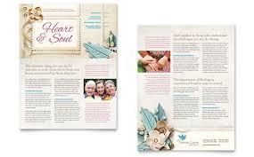 elder care newsletter templates word u0026 publisher