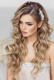 bridal hair for oval faces elstile long wedding hairstyle pearls flowers and inspiration