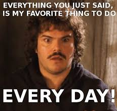 Meme Conversation - nacho libre i will never be able to have that me too