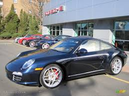 Porsche 911 Blue - 2009 midnight blue metallic porsche 911 carrera 4s coupe 27544774