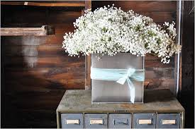 baby s breath centerpiece diy babys breath centerpiece 792932 weddbook