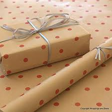 brown gift wrapping paper kraft patterned brown gift wrapping paper spots 10