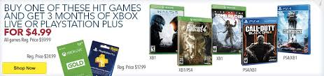 playstation plus sale black friday fallout 4 deals black friday season pass u0026 more