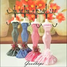 ballgown dress mannequin ring earring necklace bracelet