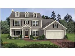 2 colonial house plans eplans colonial house plan timeless and two 1695