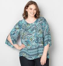 tunic blouse womens plus size tunic blouse from avenue