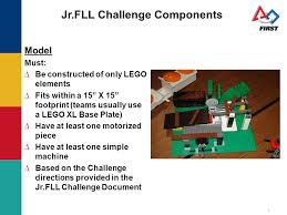 Challenge Directions Junior Lego League Jr Fll Ppt