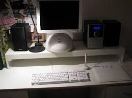 Ribba Picture Ledge Lack Computer Stand Ikea Hackers Ikea Hackers