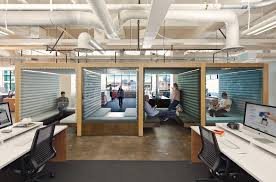 the modern office cubicle makes a statement