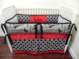 Migi Blossom Crib Bedding Custom Baby Bedding Set Boston Boy Baby Bedding Sports