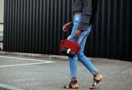 how to make big holes ripped knee jeans