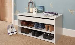 Winslow White Shoe Storage Cubbie Bench White Hallway Shoe Storage Bench U2014 Stabbedinback Foyer Making