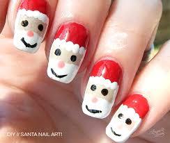 diy christmas nail art santa laura laura new zealand food