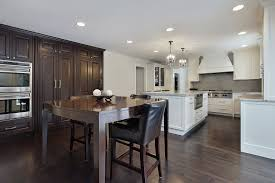White Kitchen Cabinets With Dark Floors 46 Kitchens With Dark Cabinets Black Kitchen Pictures