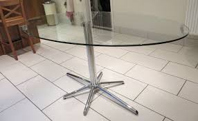 oval glass dining table extend an oval glass dining table