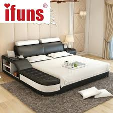 cheap leather bed frames china furniture leather bed cheap price