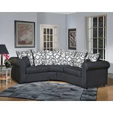 curved sectional sofa curved sectional sofas you ll love wayfair
