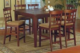 high table and chair set high chair dining room set coryc me