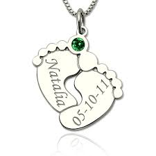 necklace with baby name time mothers day necklace gifts with baby name birth date