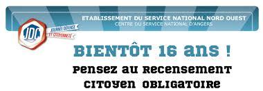 bureau de service national du lieu de recensement recensement citoyen obligatoire commune de chaveignes