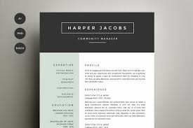 Resume Sample Copy Paste by B U N D L E U2022 10 Resume Templates Resume Templates Creative Market
