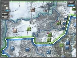 Battle Of The Bulge Map Grogheads Wargamers Unite