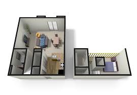 bedroom expansive 1 bedroom apartments floor plan concrete wall