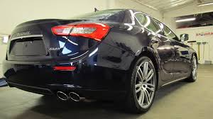 maserati inside 2015 2015 mica blue passione maserati ghibli after gtechniq coatings