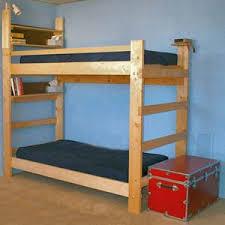 Bunk Beds Wood Heavy Duty Bunk Bed Wtih Desk Elitedecore