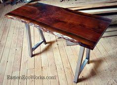 Walnut Slab Table by Black Walnut Wood Slab Top Deodar Cedar Stump Base A Really Fun