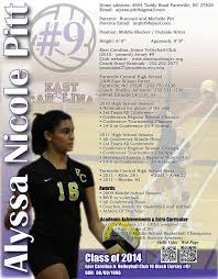 athletic resume 103 best sports resumes recruiting flyers images on