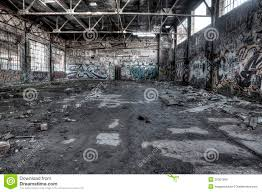 Warehouse Interior Ruined Warehouse Interior Stock Photo Image Of Interior 35307880