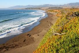 Map Of Cambria Ca Moonstone Beach Cambria California Natural Gemstones Wash Up In