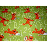 elmo christmas wrapping paper one roll of sesame gift wrap sesame