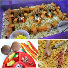 thanksgiving sensory play fantastic learning