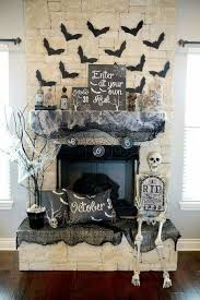 Halloween Decorating Ideas For Apartments Fancy Halloween Fireplace Decorating Ideas 96 With Additional Home
