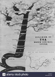 Dia Map Map Diagrams The Functions The New Deal Public Works Project Stock