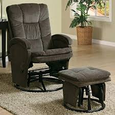 Glider Recliner With Ottoman Coaster Recliners With Ottomans Collection 600159