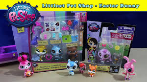 littlest pet shop easter eggs littlest pet shop the lps easter bunny new pets in the