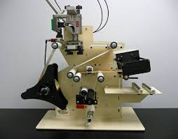 manual label applicator machine ce 3100r round product label applicator