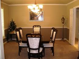 beautiful dining room paint ideas with chair rail blue cute