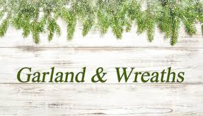 artificial garland wreaths and centerpieces for sale