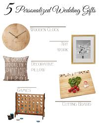 Personalized Gifts Ideas 5 Personalized Wedding Gifts Elements Of Ellis