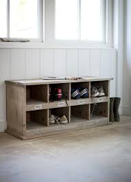 Cubby Storage Bench by Chedworth 8 Shoe Locker Spruce Garden Trading