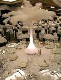 ostrich feather centerpiece ostrich feathers weddings style and decor planning do it
