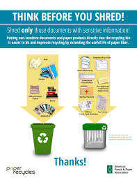 where to shred papers paper shredding recycling