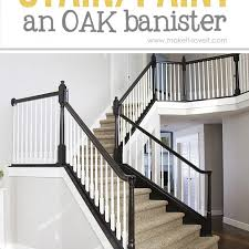 is it better to paint or stain your kitchen cabinets how to paint stain wood stair railings oak banisters