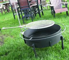 Fire Pit Grille by Outdoor Fire Pits And Accessories