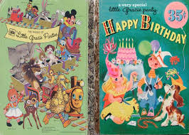be book bound from the book of a golden books birthday